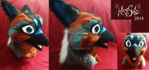 Gryphon Fursuit Head SOLD by Kloofcat