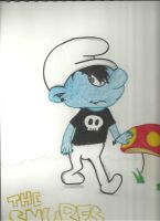 Gothic Smurf by Music---Junky