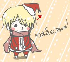 Merry Christmas from Russia by priala-sempai