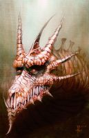 Red Dragon III by mindsiphon