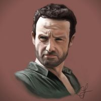 Rick Grimes by hammn