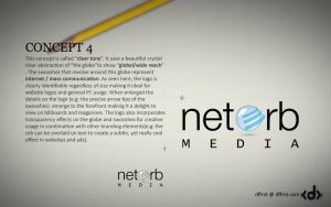 NetOrb Media Logo by vijay-dffrnt