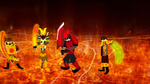 The Four Firebenders by The-Ironwing-Kaiser