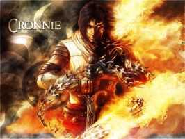 Prince of Persia On Fire by cronnie