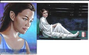 Arwen and Leia cards by sarahwilkinson