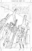 The Sundays #3 cover pencils by ScottEwen