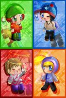 chibi metro south park by nennisita1234