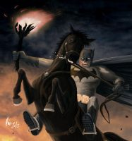 The Dark Knight - Detail. by uRaioU
