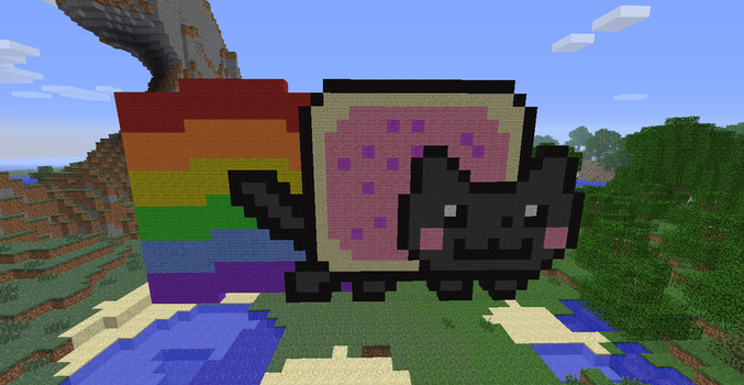 Nyan Cat Again by Alx1002