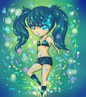~Chibi Black Rock Shooter~ by YumemOOn