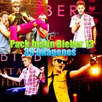 Pack Justin Bieber 13 by SwiftBieberLovato