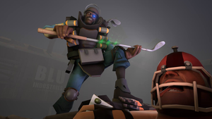 The Raging DemoMan by Texlow