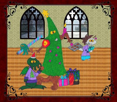 Merry Monster Xmas by donatien1740