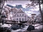 My home is my castle - infrared by MichiLauke