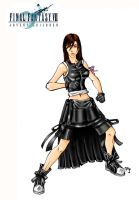 Tifa Lockhart Color by arvalis