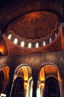 Temple of Saint Sava Inside by rayxearl