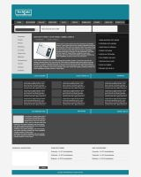 A theme for technology portal by mediarays