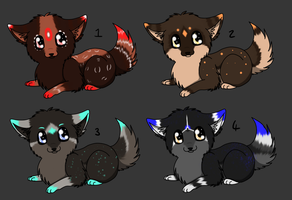 Baby Puppy Adopts 2: CLOSED by Akari-Adopts