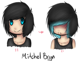 Mitchel Age difference by KayMarie94
