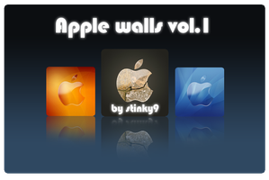 Apple Walls Vol.1 by Stinky9