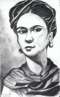 Frida Kahlo by the-rope