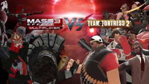 Mass Effect 3 VS Team Fortress 2 by bombajofej8