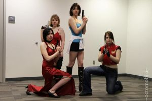 The Ladies of Resident Evil by Sheikahchica