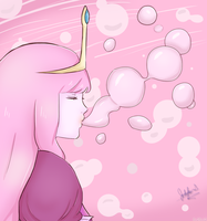 Bubblegum Bubbles by JauntyEyes