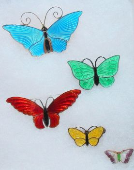 A Bevy of Butterflies by myloko