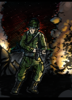 Soldier by Grypwolf