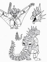 PR G-Force: Varan Zord by Deadpoolrus