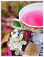 Cup of Spring by Memmarte