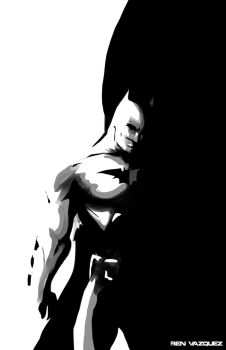 Batman speed sketch by MetaWorks