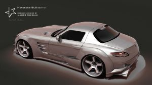 Mercedes SLS Black Series by mcmercslr