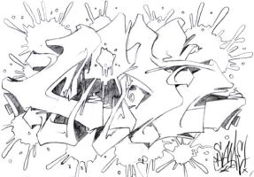 new sketch steez by cade-wk