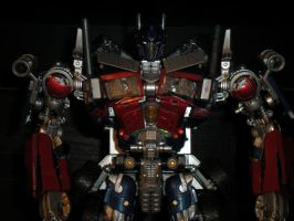 finished optimus prime by future-trunks