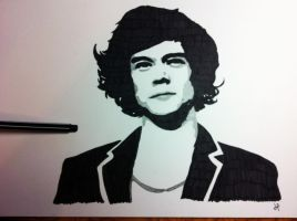 Harry Styles popArt by LouTomlinfiglio