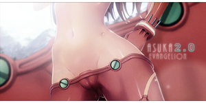 Ecchi Asuka by THE-GLORIOUS-LIME