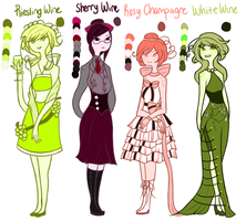 More Wine Adoptables .: Adoptables Closed :. by Ask-TheKingofGames