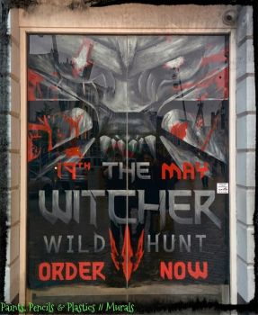 The Witcher 3: Wild Hunt - Window Mural! by JLMaze