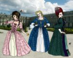 A Visit to Versailles by Illishar