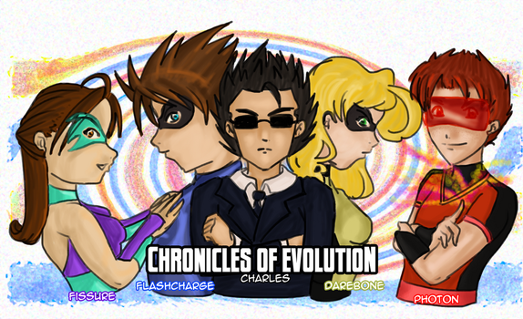 Chronicles of Evolution: Superheroes by ssjgirl