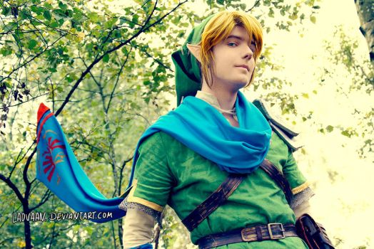 Link - Hyrule Warriors Cosplay #3 by Laovaan