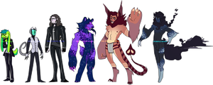 Customs For Alliegator99 by The-Purple-Room