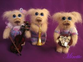 A street orchestra by Mirettetoys