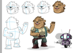 Character Designs by adsta
