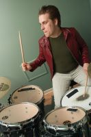 Drummer boy from the 80s by py