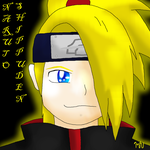 Deidara Icon for PikaPiplup by MidnightTheUmbreon