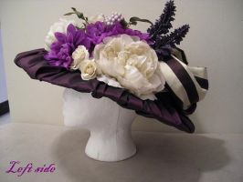 Edwardian hat left side by Idzit