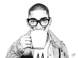 Tinie Tempah by face-art